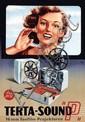 Poster by  Judy - Terta-Sound 16mm Tonfilm-Projektoren