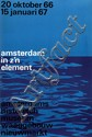 Poster by Willem H. Crouwel - amsterdam in z'n element