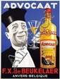Poster by  Anonymous - Advocaat F.X. de Beukelaer