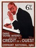 Poster by Roger Broders - Crédit de l'Ouest, Roger Broders, €380