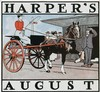 Poster by Edward Penfield - Harper's August (Trolley stop tableau), Edward Penfield, €550