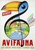Poster by Reyn Dirksen - Bezoekt Avifauna, Reyn Dirksen, €120