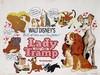 Poster by Walt Disney - Movie: Walt Disney's Lady and the Tramp, Walt Disney, €90