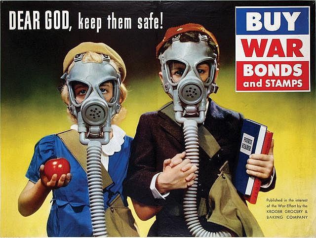Propaganda de Guerra: Dear god, keep them safe!