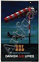 Poster by Ib Andersen - DDL Danish Air Lines, Ib (1907) Andersen, Click for value