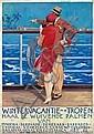 Poster by Piet van der Hem - Wintervacantie in de Tropen met de Koninklijke Nederlandsche Stoomboot Maatsch., Pieter