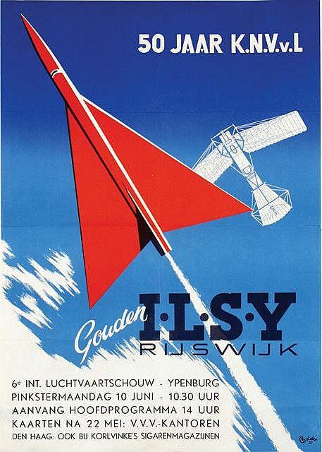 Poster by Nicolaas J.B. Bulder - I.L.S.Y. Rijswijk