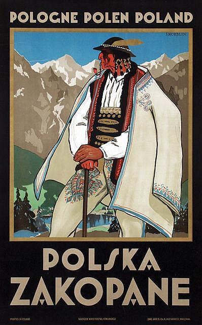 Poster by Stefan J. Norblin - Polska Zakopane