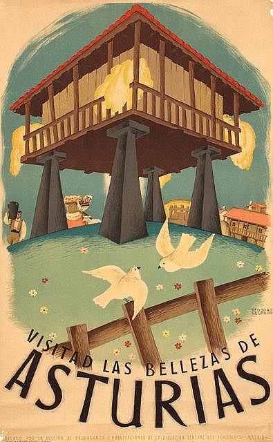 Poster by Teodoro Delgado - Asturias