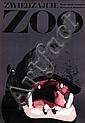 Poster by Waldemar Swierzy - Zwiedzajcie Zoo, hippopatamus, Waldemar Swierzy, Click for value