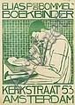 Poster by Theodorus M.A.A. Molkenboer - Elias P van Bommel Boekbinder Amsterdam, Theo Molkenboer, Click for value