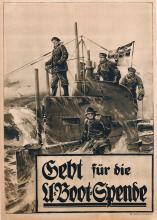 Marine U-Boot Stöwer 22 Flottenparade vor dem Kaiser um 1912 Wilhelm II