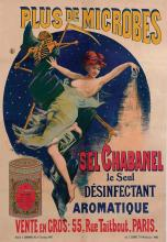 Poster by Jules Cayron - Sel Chabanel le Seul Désinfectant Aromatique (the only aromatic disinfectant)