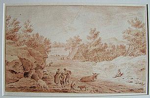 NOORDE, C. (Cornelis) VAN (1731-1795) ?Te