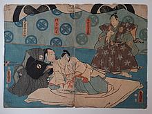 JAPANESE PRINTS - KUNISADA, UTAGAWA (TOYOKUNI III) (1786-1865).