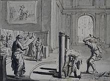 DRAWING - LUYKEN, J. (Jan) (1649-1712).
