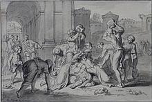 DRAWING - PICART, B. (Bernard) (1673-1733).