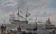 DRAWING - VERBRUGGEN, J. (Jan) (1712-1781).