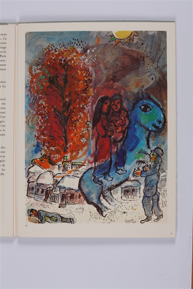 Chagall m derri re le miroir no 225 chagall for Chagall derriere le miroir
