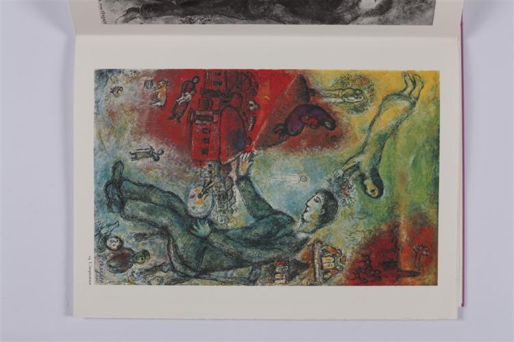 Chagall m derri re le miroir no 235 marc chaga for Chagall derriere le miroir