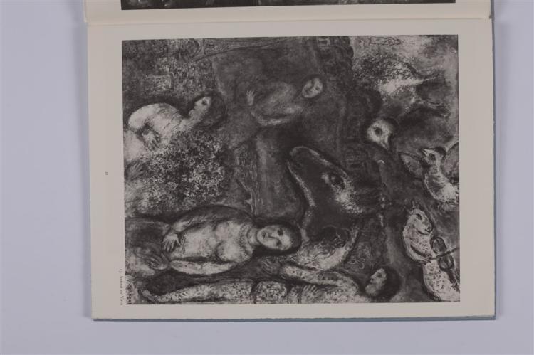 Chagall m derri re le miroir no 246 chagall l for Chagall derriere le miroir
