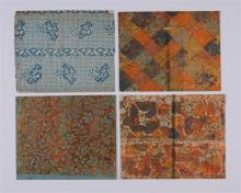 [PAPER] – [DECORATED PAPER] – LARGE COLLECTION of ca. 19 ...