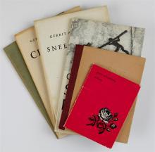 ACHTERBERG, G. Limiet. Gedichten. Bussum, C.A.J. van Dishoec ...