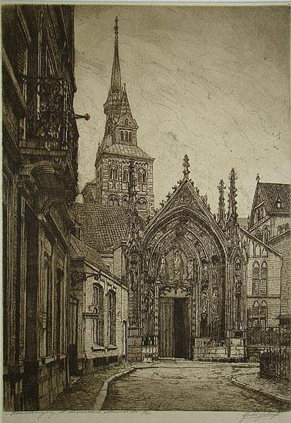 SCHERFT, J.D. (Johannes)(1891-1969).