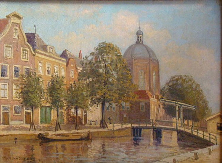WAGEMANS, A. (Pieter Johannes) (1879-1955) Gezicht