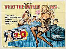 WHAT THE SWEDISH BUTLER SAW Film Poster. UK