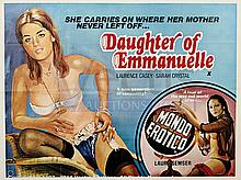 DAUGHTER OF EMMANUELLE (c.1970s) Film Poster. UK