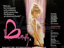 BUTTERFLY (c.1970s) Film Poster. UK Quad, SS
