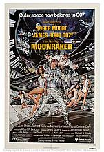 MOONRAKER (1979) Movie Poster. US One Sheet