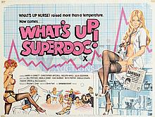 WHATíS UP SUPERDOC? (1978) Film Poster. UK Quad