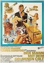 THE MAN WITH THE GOLDEN GUN (1974) Film Poster