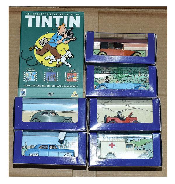 Grp Inc Atlas Editions En Voiture Tintin