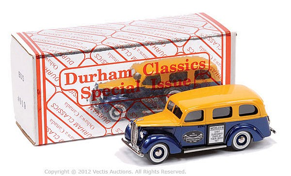 Durham Classics Ford 1939 Mini Bus