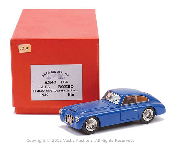 Alfa Model 43 AM43 134 Alfa Romeo 6C 2500 Nardi