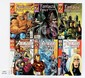 QTY Marvel and DC Comics and Graphic Novels