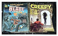GRP inc Film magazines and fanzines: Blade