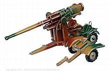 Marklin No.8021/56 Pre War Gun on Trailer