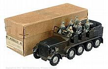 Marklin 8021/16G Pre War Krupp Troop Carrier
