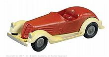 Marklin No.5521/3 BMW Open Sports Car - red