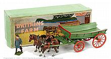 Britains - Set 5F - Farm Wagon, (Post War