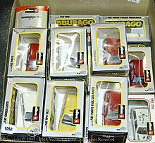 GRP inc Burago boxed Fiat in 1/24th scale