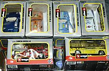 GRP inc Burago boxed Car in 1/24th scale