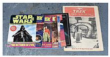 GRP inc Star Trek and Star Wars magazines