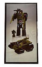 Hasbro Transformers G1 1987 Hardhead Autobot