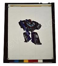 Hasbro Transformers G1 1985 Decepticon Box art