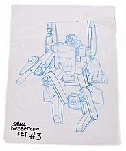 Hasbro Transformers Small Decepticon Jet #3